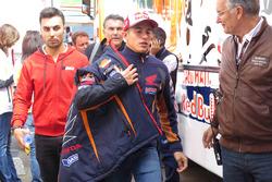 Marc Marquez, Repsol Honda Team, nach seinem Sturz