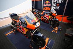 The KTM RC16 MotoGP Bikes