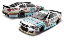Danica Patrick, Stewart-Haas Racing Chevrolet throwback scheme