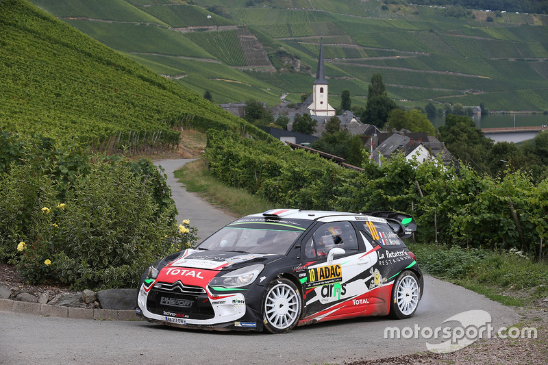Stéphane Lefebvre, Gabin Moreau, Citroën DS3 WRC, Citroën World Rally Team