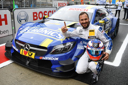 Pole position for Gary Paffett, Mercedes-AMG Team ART, Mercedes-AMG C63 DTM