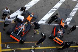 Leonard Hoogenboom, Van Amersfoort Racing; Kami Laliberté, Van Amersfoort Racing