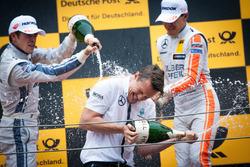 Podio: Paul Di Resta, Mercedes-AMG Team HWA, Mercedes-AMG C63 DTM and Robert Wickens, Mercedes-AMG Team HWA, Mercedes-AMG C63 DTM