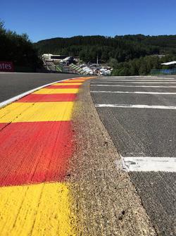 Eau Rouge track detail