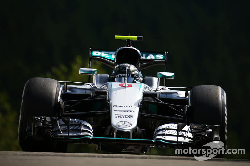 Belgien, Spa-Francorchamps: Nico Rosberg (Mercedes)