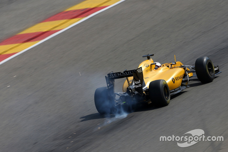 Ausfall: Kevin Magnussen, Renault Sport F1 Team RS16