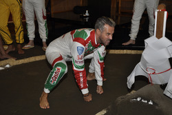 Tiago Monteiro práctica Sumo