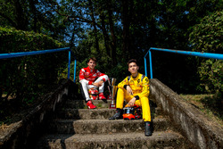 Charles Leclerc, ART Grand Prix and Jack Aitken, Arden International