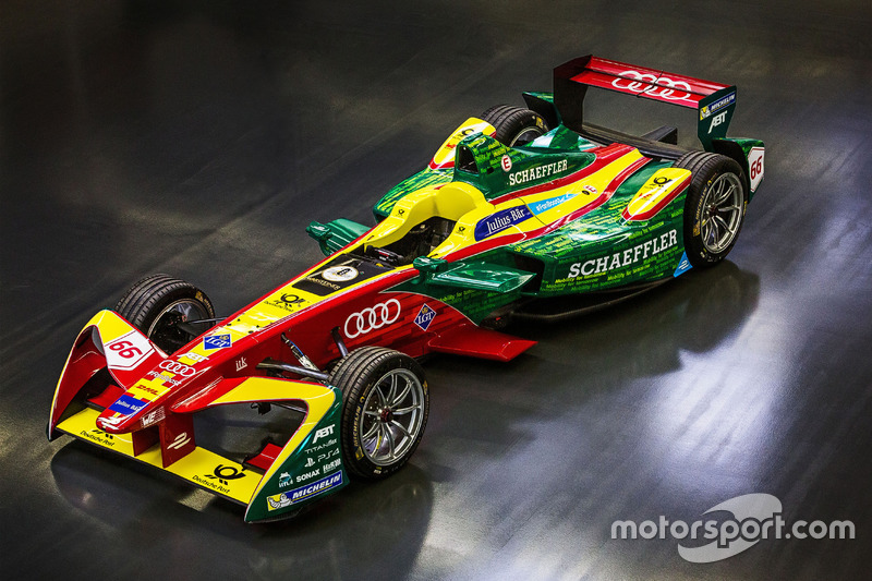 Audi Team ABT Schaeffler race car