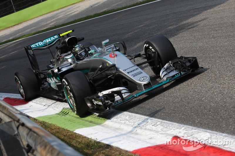 Italien, Monza: Nico Rosberg (Mercedes)
