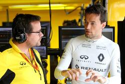 Julien Simon-Chautemps, Renault Sport F1 Team Renningenieur mit Jolyon Palmer, Renault Sport F1 Team