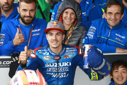 Derde: Maverick Viñales, Team Suzuki MotoGP