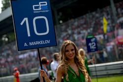 Grid kızı, Artem Markelov, RUSSIAN TIME