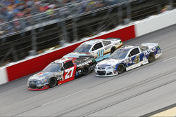 Kevin Harvick, Stewart-Haas Racing, Chevrolet; Paul Menard, Richard Childress Racing, Chevrolet; Danica Patrick, Stewart-Haas Racin,g Chevrolet