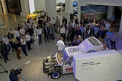 Patrick Simon, Jochi Kleint, Rainer Braun ''50 yıllık heyecan - Volkwagen Motorsport'' açılış töreninde