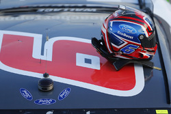 Helmet of Darrell Wallace Jr., Roush Fenway Racing Ford