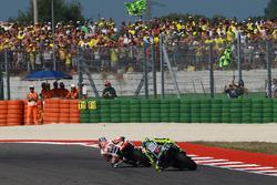 Dani Pedrosa, Repsol Honda Team, Valentino Rossi, Yamaha Factory Racing