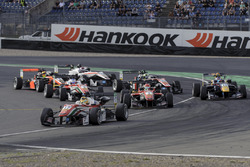 Partenza: Maximilian Günther Prema Powerteam Dallara F312 - Mercedes-Benz