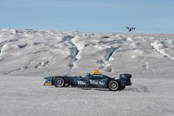 Lucas di Grassi in der Arktis