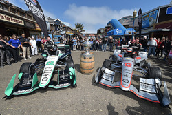 Simon Pagenaud, Team Penske Chevrolet, Will Power, Team Penske Chevrolet en Pier 39