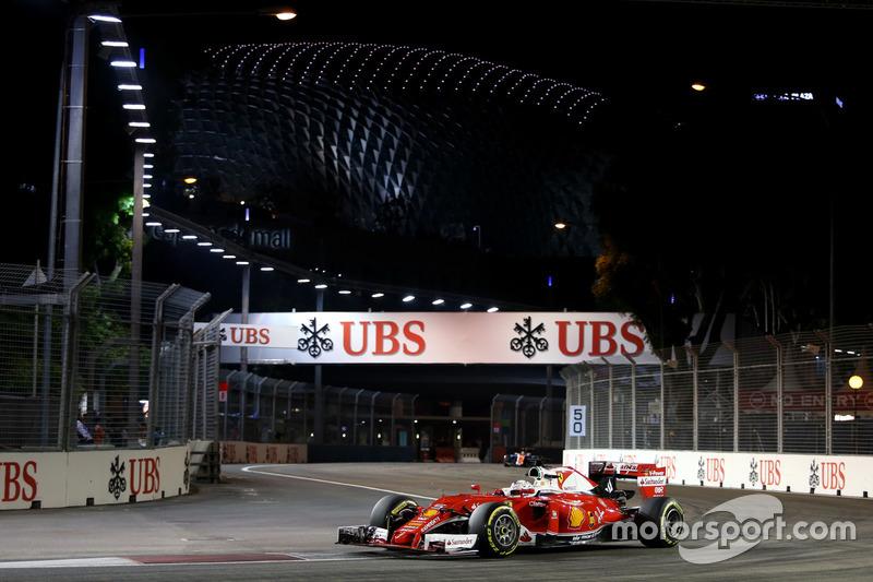 5. Sebastian Vettel, Scuderia Ferrari SF16-H