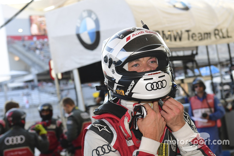 Gandador de la pole Andre Lotterer, Audi Sport Team Joest