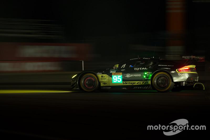 1. GTE-Pro: #95 Aston Martin Vantage GTE: Marco Sorensen, Nicki Thiim