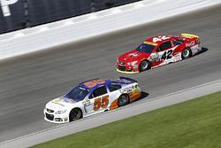 Reed Sorenson, Premium Motorsports Chevrolet, Kyle Larson, Chip Ganassi Racing Chevrolet