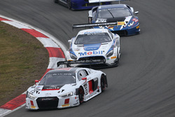 #75 ISR, Audi R8 LMS: Marlon Stockinger, Frank Stippler, Filip Salaquarda