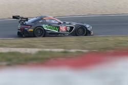 #46 Sports & You, Mercedes-AMG GT3: Louis-Philippe Soenen, Angélique Detavernier, Jose Manuel Balbian