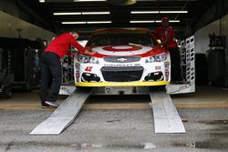 El coche de Kyle Larson, Chip Ganassi Racing Chevrolet