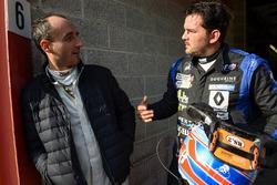 #16 Team Duqueine Renault RS01: Rober Kubica, Christophe Hamon