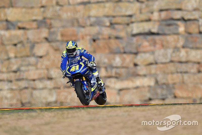 7. Aleix Espargaro, Team Suzuki Ecstar MotoGP