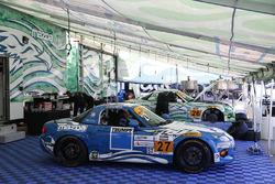 #27 Freedom Autosport Mazda MX-5: Danny Bender, Britt Casey Jr., #26 Freedom Autosport Mazda MX-5: Andrew Carbonell, Liam Dwyer