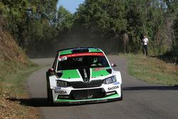 Ян Копецки и Павел Дреслер, Skoda Fabia R5, Skoda Motorsport