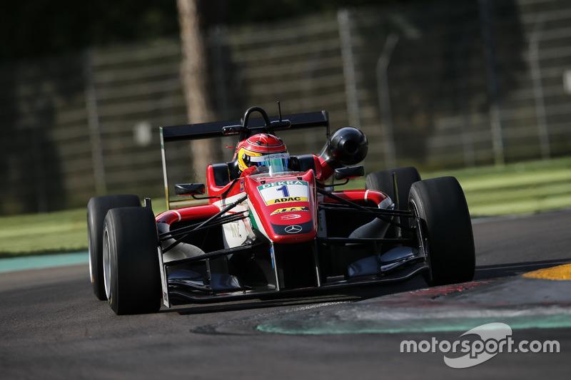 Formel-3-EM: Prema Powerteam, Dallara-Mercedes F312