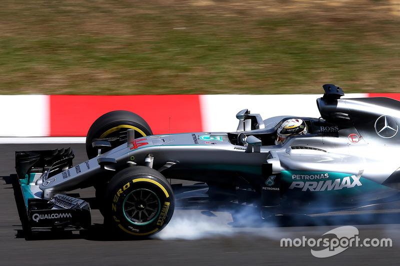 1: Льюіс Хемілтон, Mercedes AMG F1 W07 Hybrid