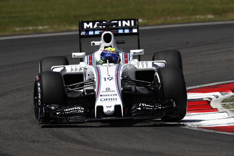 13. Felipe Massa, Williams FW38