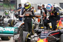 Sergio Perez, Sahara Force India F1 in parc ferme