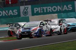 Tin Sritrai, Honda Civic TCR, Team Thailand ve Kevin Gleason, Honda Civic TCR, West Coast Racing