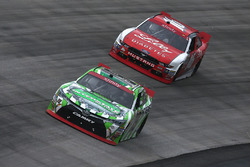 Daniel Suárez, Joe Gibbs Racing Toyota, Ryan Reed, Roush Fenway Racing Ford
