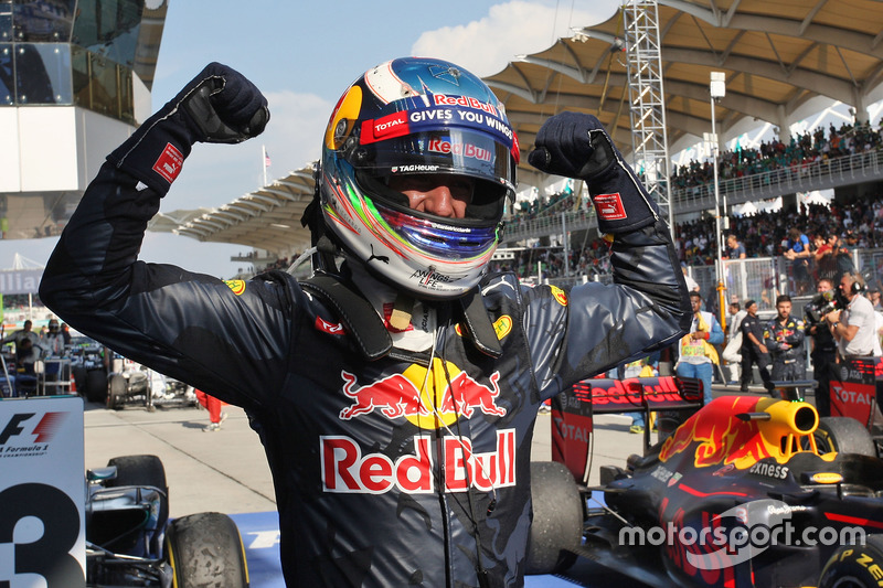 Un homenaje de un viejo conocido, Daniel Ricciardo