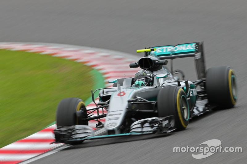 1: Nico Rosberg, Mercedes AMG F1 Team