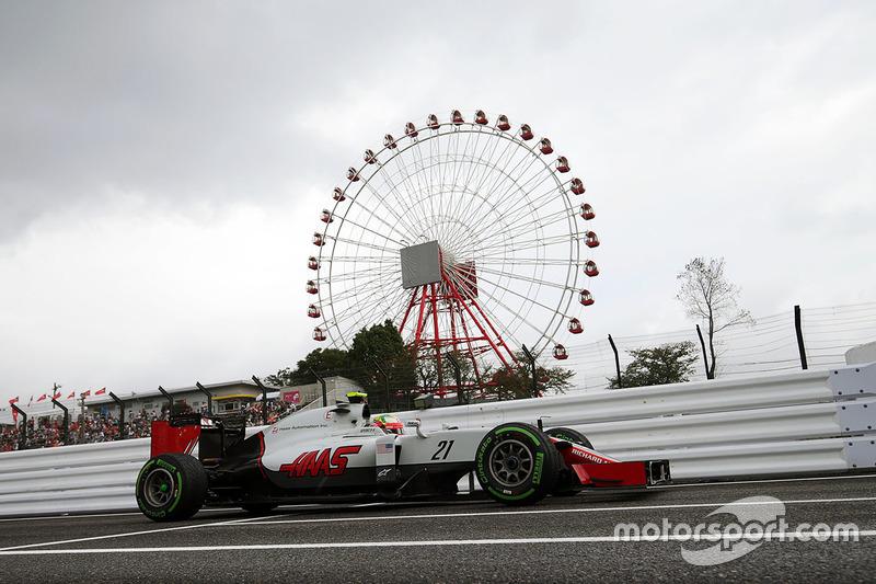10: Esteban Gutierrez, Haas F1 Team VF-16