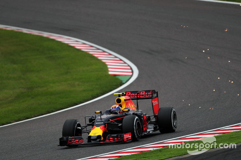 3: Max Verstappen, Red Bull Racing RB12