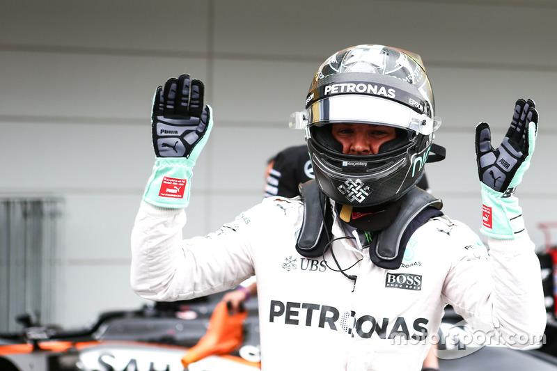 Pole para Nico Rosberg