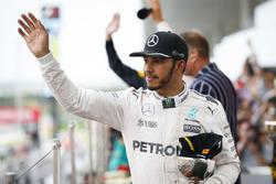 Podium: tercero, Lewis Hamilton, Mercedes AMG F1