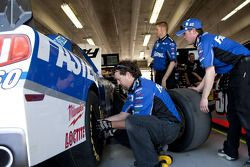 Le Roush Fenway Racing Ford en plein travail