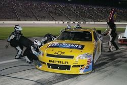 Pit stop for Aric Almirola