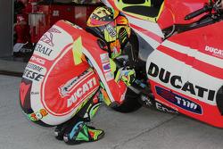 Valentino Rossi, Ducati Team, prueba la nueva Ducati GP12